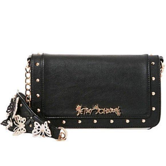 Betsey Johnson Handbags - Betsey Johnson FLUTTERBY BUTTERFLY CROSSBODY